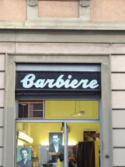 Barber shop, Milano, Italy Taken with iPhone