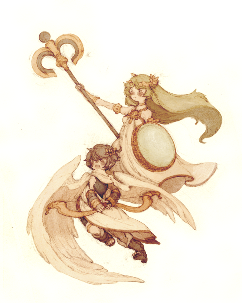"""Prepare to meet the light!"" by Huey Li. Our Kid Icarus: Uprising clan, Garfield and Friends, had its first exhibition matches under its new banner yesterday, and we just dominated the competition — the competition being AI bots handicapped at a difficulty setting that remains classified for clan secrecy purposes. What I can share with you are select tweets and IMs from yesterday's legendary battles (follow us on Twitter!):  For honor. For glory. For Garfield and Friends. Team Garfield and Friends is just wrecking dudes in Kid Icarus: Uprising. @jcfletcher and I going HAM on NPC bots. We beat #1 Bacon! [one of many opponents we crushed] Now we are the #1 Bacon, & he is #2. Not sure how these NPC bots will recover from this beatdown from Garfield & Friends. Can't show their faces 'round here no more  Now that we are nown to existence, do you have what it takes to hang with the big boys of Garfield and Friends? Are you a terror on the field, and known for shipping Dark Pit to Abu Dhabi, international postage fees be damned? Let us know if you're ready to join the best of the best of the best, and maybe we can begin discussions on how you can earn that [G&F] tag next to your nick. Buy: Kid Icarus Uprising Find: Nintendo DS/3DS release dates, discounts, & more  See also: More Kid Icarus media"