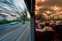 feenomanal:  Moving at the speed of a streetcar…in New Orleans.