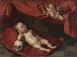 uglyrenaissancebabies:  Unknown Artist, Portrait of the Deceased Boy with Vanitas Symbols (Flemish, 17th c. [not Renaissance. Don't really care.])  Soooooooooooo emo