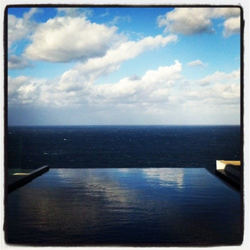 Shoot location from today…hello infinity pool Dover Heights, Sydney www.fearmanphoto.com