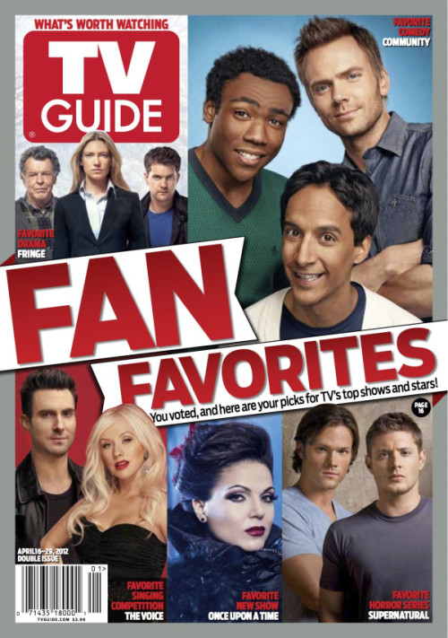fringified:   #Fringe won favourite TV Drama in TV Guide's Fan Favourite Awards  DUNHAMMED  Community won Favourite Comedy! BOOM