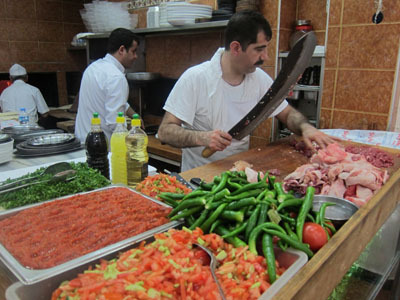 "The Rhythm of the Knife. Istanbul Eats 'cooked' its way into a nomination for ""Best Culinary Travel Blog"" award of 2011. Your vote is missing!"
