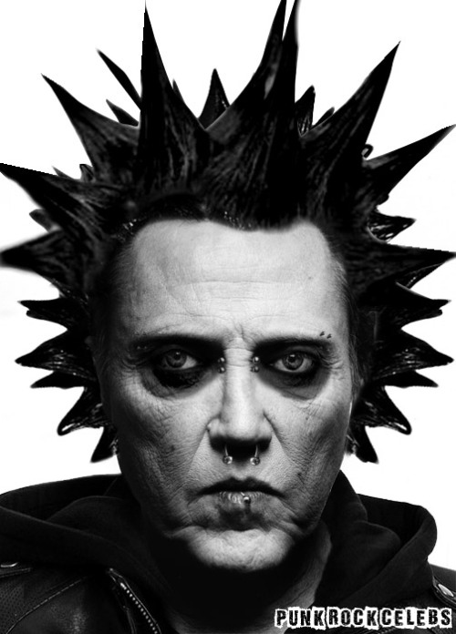 Punk Rock Christopher Walken