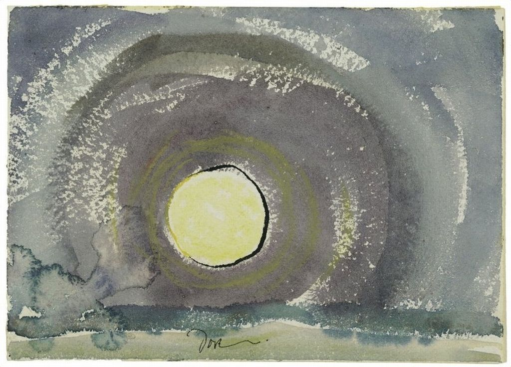 [+] Arthur Dove, Sunrise, 1937. Watercolor on paper; 5 x 7 in. The Ella Gallup Sumner and Mary Catlin Sumner Collection Fund