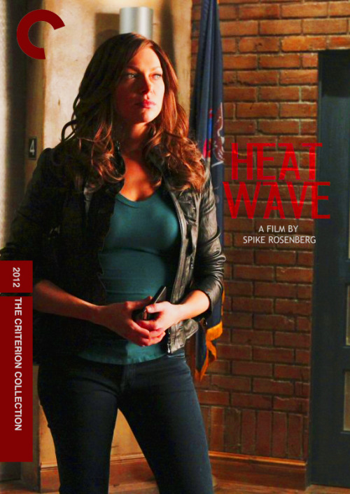 "Heat Wave (2012), directed by Spike Rosenberg, based on the novel by Richard Castle (Another entry for Fake Criterions' ""Double Fakeout"", this time from Castle. It's the movie of the first novel Castle wrote about Detective Beckett.)"