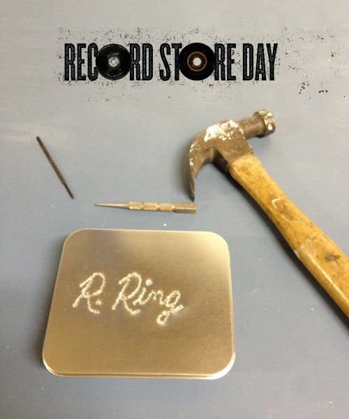 "To celebrate Record Store Day (April 21st) R. Ring has hand-made 50 copies of a cd containing two songs recorded live in Kelley's Kitchen.  They will be available for FREE (with the purchase of a shirt!) at Omega Music in Dayton, Ohio.   R. Ring will play at noon followed by: Buffalo Killers, Me and Mountains, m Ross Perkins, Astro Fang, Rebel Set, Mitch Mitchell's Terrifying Experience, Raging Nathans, Back Stabbath and Ruckus Roboticus. If you don't manage to get one of these discs, you'll have to wait until the release of the band's debut 7"" on Misra Records sometime in the near future!"