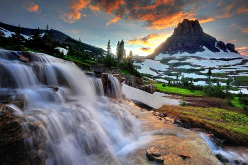 Come and experience Glacier National Park's pristine forests, alpine meadows, rugged mountains, and spectacular lakes. With over 700 miles of trails, Glacier is a hiker's paradise for adventurous visitors seeking wilderness and solitude. Relive the days of old through historic chalets, lodges, transportation, and stories of Native Americans. Explore Glacier National Park and discover what awaits you.Photo: Vanessa Lau, National Park Service