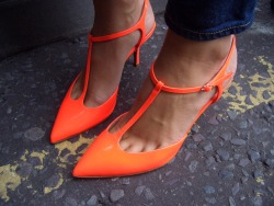 topshop:  Orange crush.