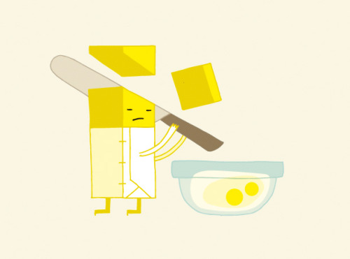 i was very pleased to hear that my suicidal butter illustration from a food tips series for the zine put a egg on it, was selected to appear in the american illustration 31 illustration annual. not sure what this says about the selection jury, but i ain't complaining. thanks ai jury!  Original Article
