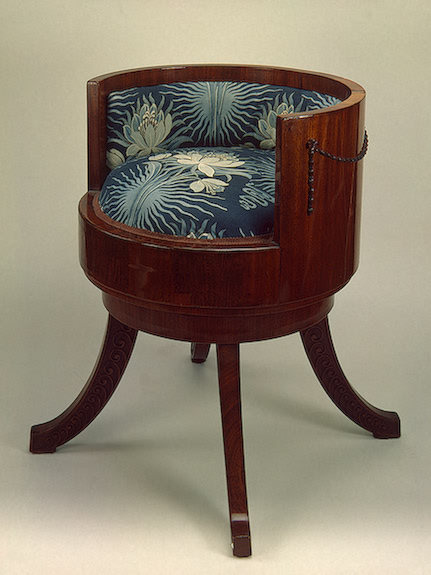 omgthatartifact:  Chair Russia, early 20th century The Hermitage Museum  I like this chair.  I'm not sure why…