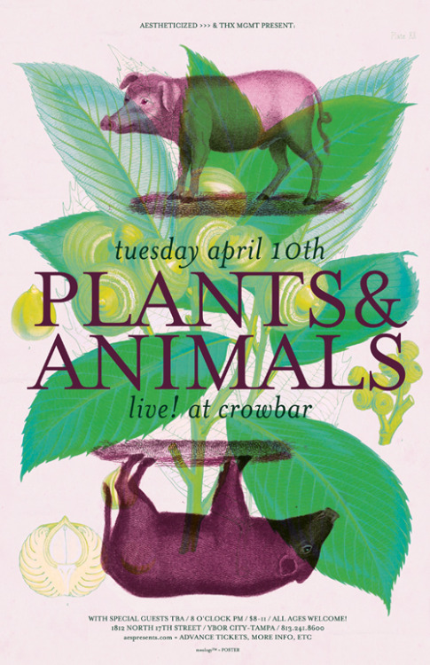 rsvp / tix unfamiliar w/ this evening's headliner Plants & Animals (from Montreal, QC - on Secret City)? and/or their touring support This Is The Kit (from Bristol, UK - on Dreamboat)? on #Spotify? hear what the buzz is all aboot: http://spoti.fi/PsnAs