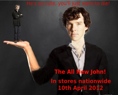 The All New John! Get yours now! P.S. I'm really sorry that it's terrible. I hate Pixlr.