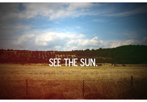 See the Sun | Make it a goal
