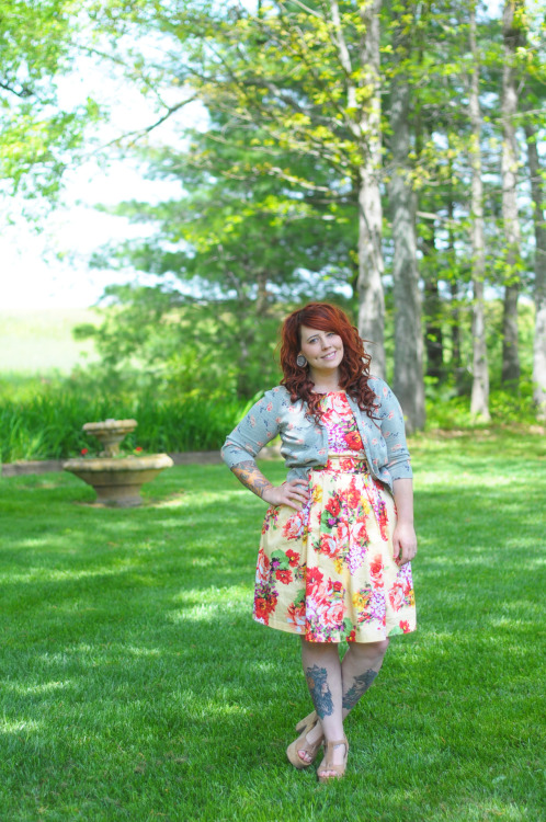Favorite Dress Ever // a new outfit post on the blog featuring… uh… my favorite dress? ;)