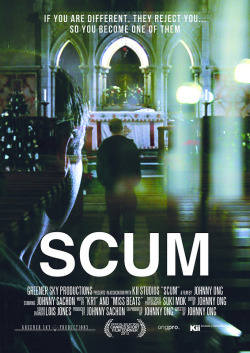 Scum 2012 A short film poster I designed for Greener Sky Productions.