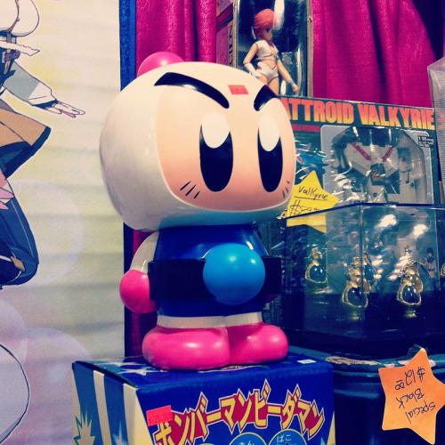 Spotted at Anime Boston: BOMBERMAN