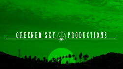 Greener Sky Productions 2011 A logo I designed for Greener Sky Productions.