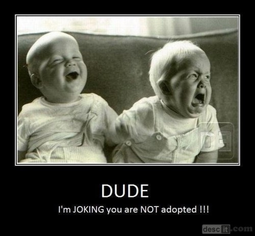 descit:  dude I'm joking  Lol … Reminds me of Aimee and Nick
