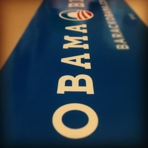 Look who got their sticker @barackobama . (Taken with instagram)
