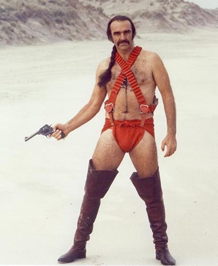 oldfilmsflicker:  Sean Connery in Zardoz