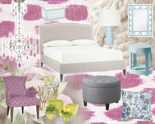 Spring Inspiration Board Inspired by the colors in the image of the flowers and this amazing chandelier made from gem stones..which I am pretty obsessed with! you can find a lot of these items on my pinterest