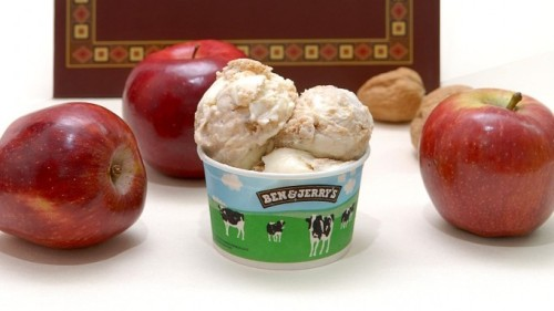 Ben and Jerry's Israeli haroset flavor for Passover!