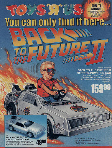 STILL WANT EVEN THOUGH I'M 23 imremembering:  BTTF Car Source: Branded in The '80s
