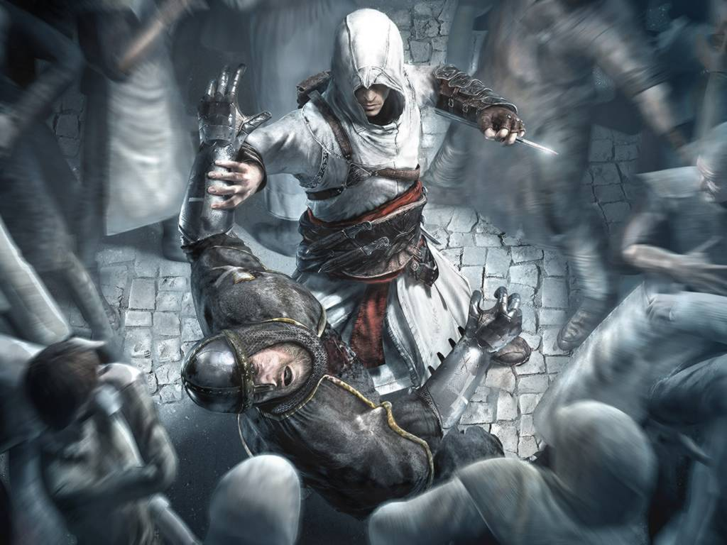 Altair is a badass. I just wish he could swim.
