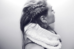 edgy side braid