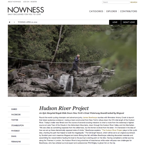 Thrilled NOWNESS was nominated for a Webby Award in Fashion and Jurlique was named an Honoree in Beauty / Cosmetics!