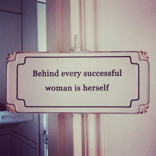 habituallychic:  Ain't that the truth.