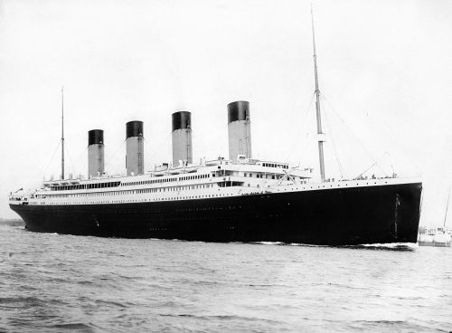 crownedrose:   TODAY IN TITANIC HISTORY: April 10th, 2012.  100 years ago today, on April 10th, 1912, the RMS Titanic left the docks of Southampton, England to begin its maiden voyage across the Atlantic Ocean to New York City. The photo above is an actual photograph snapped of the Titanic leaving Southampton.
