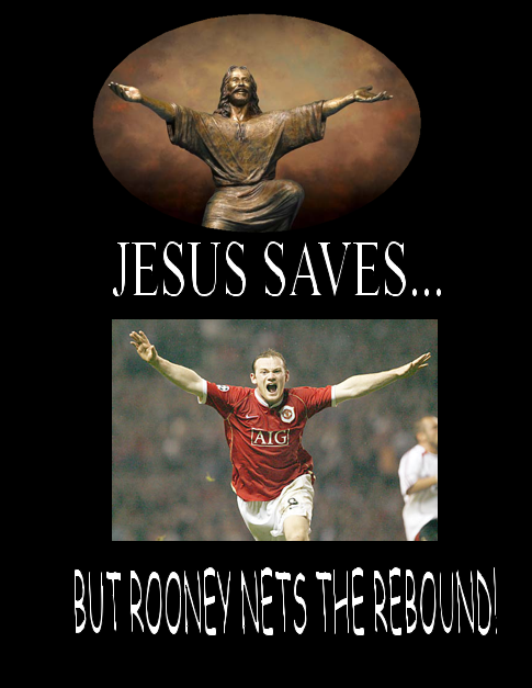I found this poster impossibly blasphemous…. I'm an arsenal fan for christ sake!