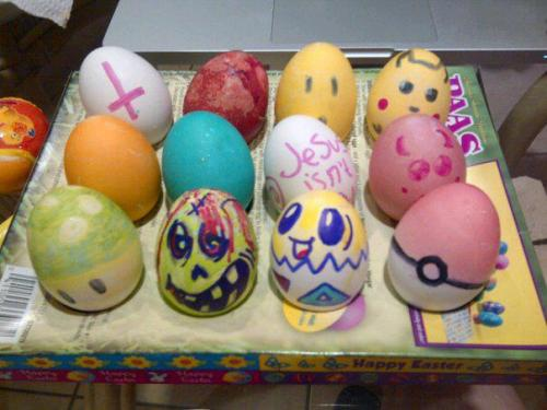 Oh, these were my easter eggs.