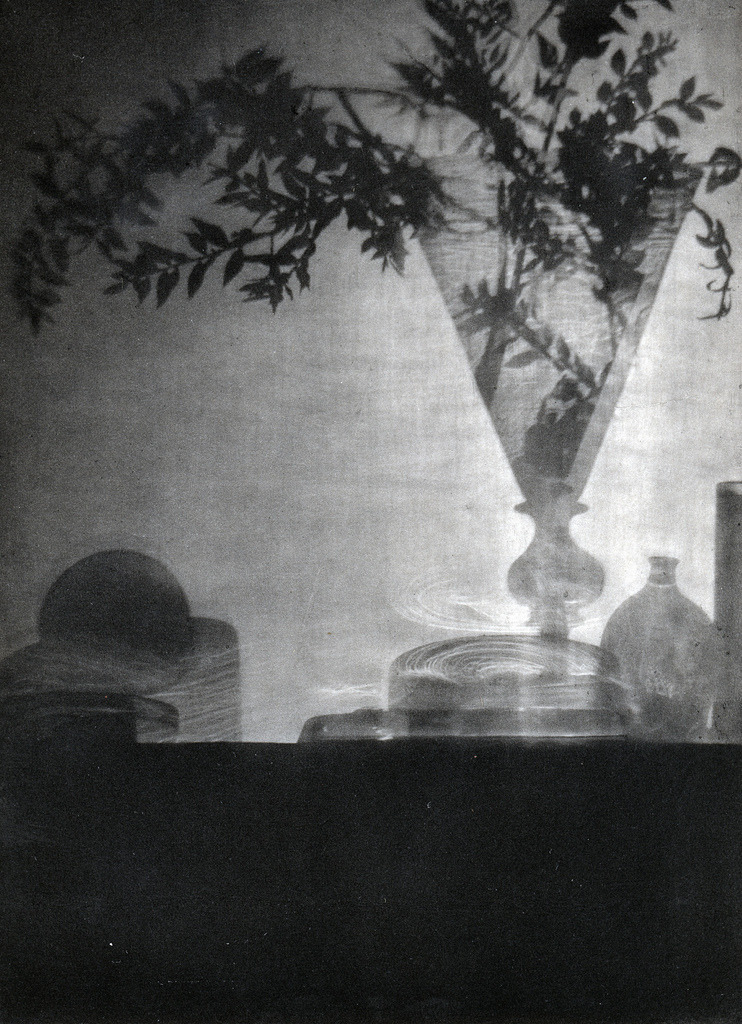 mondonoir:  Baron Adolf de Meyer | Glass and Shadows, 1912 Vintage photogravure on Japanese paper