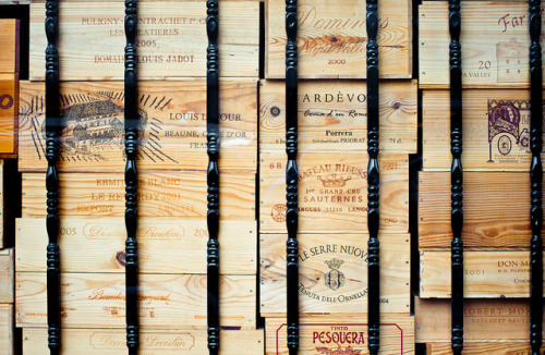 Wood Boxes of Wine by Orbmiser on Flickr.Wine Crates