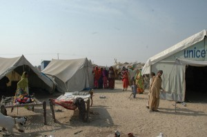 "In post-flood Pakistan, temporary learning centres offer education amid uncertainty With UNICEF support, a Temporary Learning Centre (TLC), or emergency tent school, has been established in the camp. One of her brothers is a regular attendee, and Luxmi has started going as well. It is the first chance she has had to go to school, and it is opening up possibilities that were previously unimaginable. ""I want to learn more. When I grow up, I can start working like girls in the cities,"" she said. ""Maybe I can become a teacher. But it is difficult. I have only just learnt my alphabet and counting."" With 60 per cent of schools in affected areas damaged, UNICEF has established 2,070 TLCs, benefiting over 100,000 children in Sindh and Balochistan. Intended to ensure that education is not interrupted, the TLCs have also attracted over 39,000 children to school for the first time, including 16,000 (via In post-flood Pakistan, temporary learning centres offer education amid uncertainty  