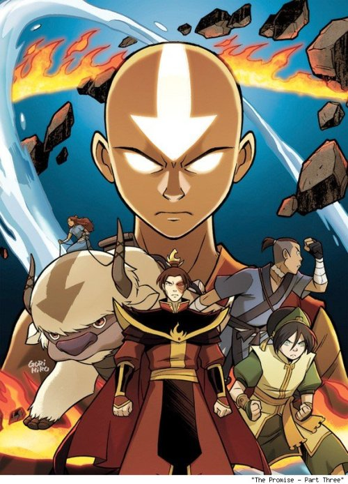 comicsalliance:  Gene Yang on the 'Avatar: The Last Airbender' Comics Leading to 'Legend of Korra' [Interview] By Chris Sims Avatar: The Last Airbender is easily one of the greatest animated shows of all time. Even after the show's three-year arc came to a satisfying conclusion, I wanted more. Fortunately, the creators of the show were happy to oblige: Not only does the world of the show return with the debut of the new animated series Avatar: The Legend of Korra on April 14, but Dark Horse has been releasing a series of Avatar graphic novels subtitled The Promise to fill in the 70-year gap between the series. Even better, they're scripted by Gene Luen Yang — the creator of the award-winning American Born Chinese — with art by the incredible team of Gurihiru. Read more.