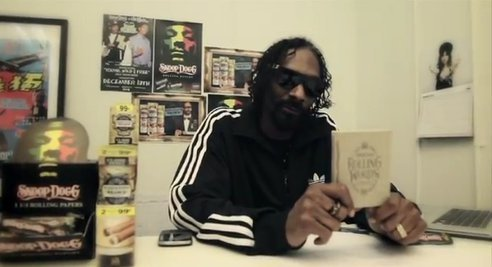 """Snoop Dogg Publishes 'Smokable' Songbook of His Greatest Hits"" Snoop Doog is dropping a book of his classic songs that can be consumed. The Doggfather's book, Rolling Words: A Smokable Songbook is an eco-friendly foray into the book publishing world. The pocket-sized book is bound in hemp and twine, the book's pages are printed on rolling papers, and the ink is nontoxic. ____________________ Just in time for April 20th. ^_^"