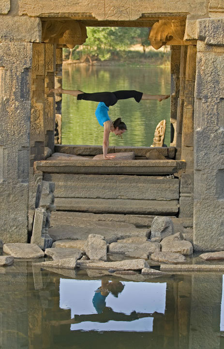 Reflect with yoga