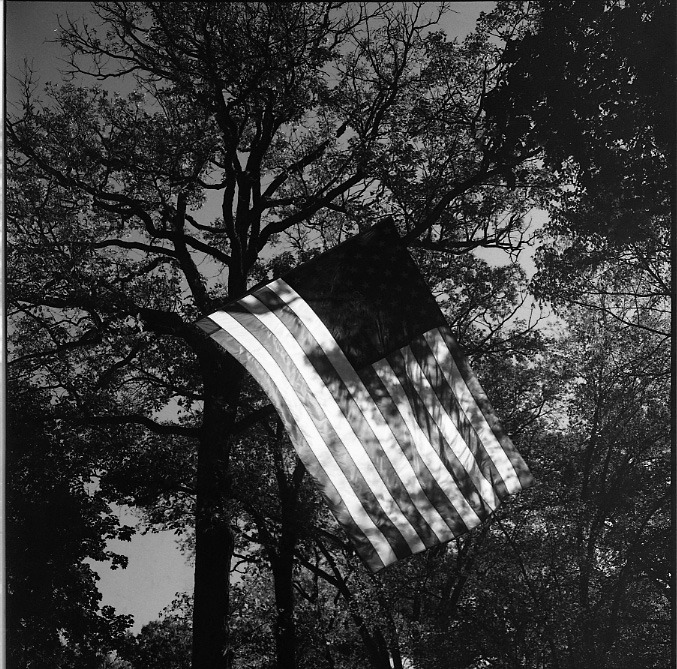 Untitled (American Flag, Trees), 1972 Steven Kasher Gallery in Chelsea is exhibiting the work of secret shutterbug, Vivian Maier. Vivian Maier: Unseen Images features 35 black and white prints. When Maier died in 2009, she left behind more than 120,000 negatives and 2,000 undeveloped rolls of film. Last year, a couple hundred of these rolls, shot in the 1960s and 1970s, were finally developed. A selection of these images make their debut in this exhibition. (note: exhibition open from April 12, 2012 - May 26, 2012) See Maier's work on LightBox here.
