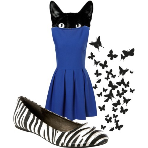 animals~ by meowth featuring zebra print shoes