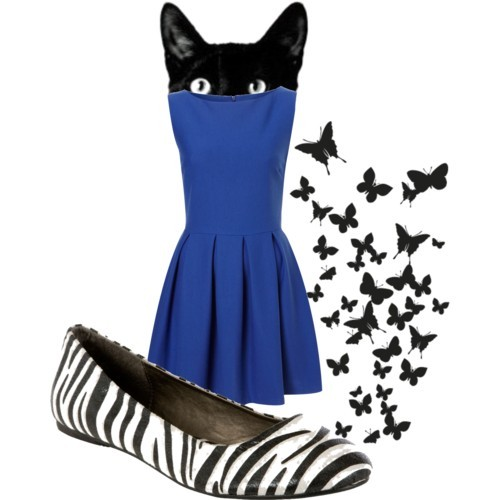 animals~ by meowth featuring a sleeveless dress