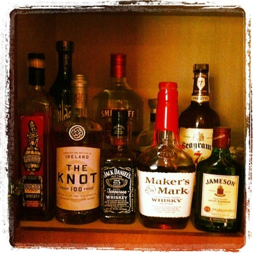 I love me some #whiskey (Taken with Instagram at Pat doodys house of ill repute)