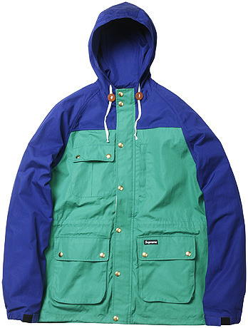 bostonroll:  Supreme spring 2009 mountain parka