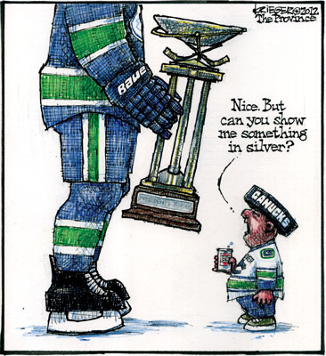 theprovince:  Vancouver Canucks fans can't get no satisfaction. Why do you think Vancouver has earned this reputation?  ^^^ yeh….Vancouver fans….some of them are the worst…and unfortunately the bad apples always spoil the bunch…