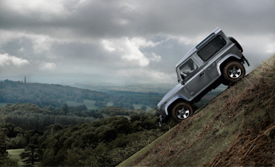 gearpatrol:  Land Rover offers another Hill Descent Control option. They call it the Defender.