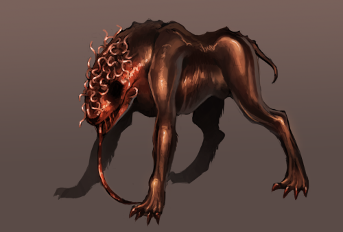 silent hill inspired dog