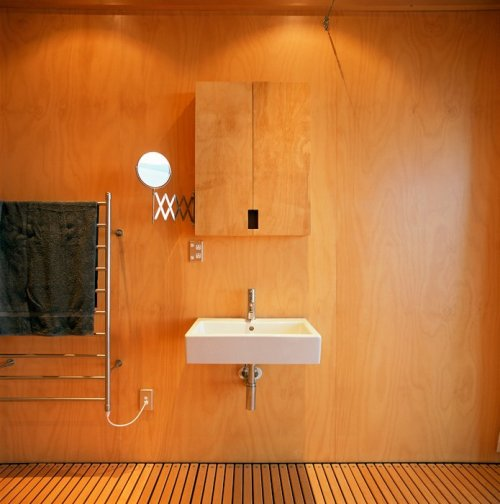 remash:  coromandel bach | bathroom ~ crosson clarke architects